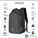 ghiozdan, geanta business laptop, multi-functional, waterproof, USB 16 inch