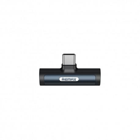 Adaptor smartphone USB tipe C spliter mufa jack 3.5 mm conectare casti