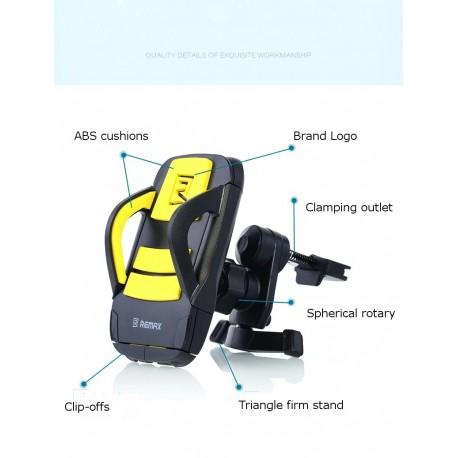 suport auto pentru smartphone cu prindere pe grila de ventilatie