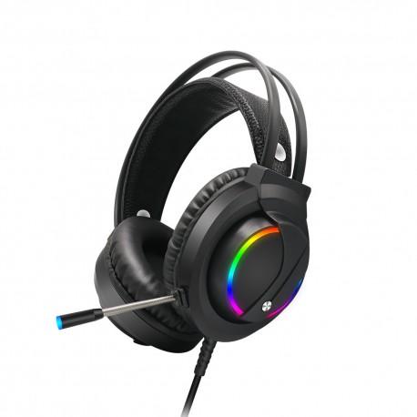 Casti audio Gaming MTK CT019 7.1 ,Stereo Sound microfon , iluminare LED RGB, PC si PS3, PS4