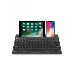 Tastatura wireless bluetooth multi-device, smartphone, tableta, ipad, laptop, PC, computer, smart TV